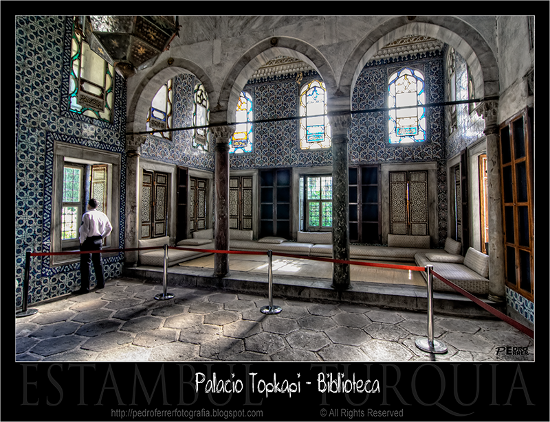 Palacio Topkapi - Biblioteca