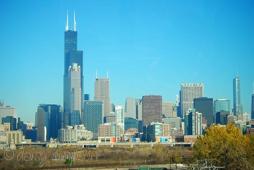 chicago train view