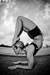 Yoga Anyone? (eyecbeauty) Tags: bw yoga fisheye 1001nights blackdiamond flexible photographyrocks perfectangle blackandwhitephotoaward flickraward platinumheartaward thisphotorocks flickridol bwartaward blackandwhiteawards flickrestrellas blackdiamondpremier artofimages blackartwhite dragonsdanger theessenceofwoman platinumpeaceaward bestcapturesaoi flickrunitedaward todaysbest favtop20 blackwhitelovers favtop35 1001nightsmagiccity flickraward5