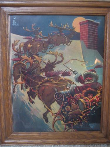 Vintage Christmas Print