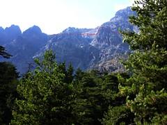 Versant complet de Sierra Pianella vu de la Grotte des Anges