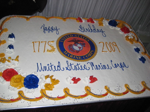 US Marine Corp Birthday Cake