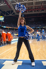 UK vs Sam Houston 19 (paulmhooper) Tags: uk blue cats white sports basketball court photography nikon cheerleaders lexington kentucky cheerleading sec ncaa basketballcourt blueandwhite wildcats rupparena sportsphotography universityofkentucky samhoustonstate mensbasketball nikond90 november192009 cawoodscourt