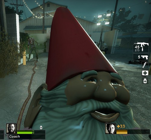 I Played Through Left 4 Dead 2 Holding A Goddamn Gnome - a