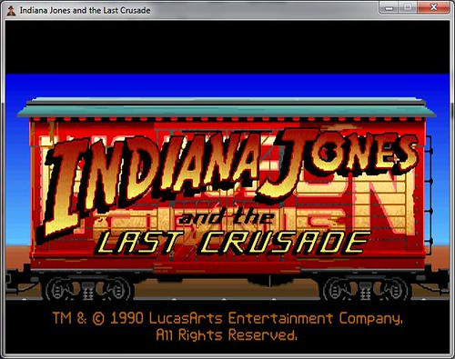 Indy Game Title Screen