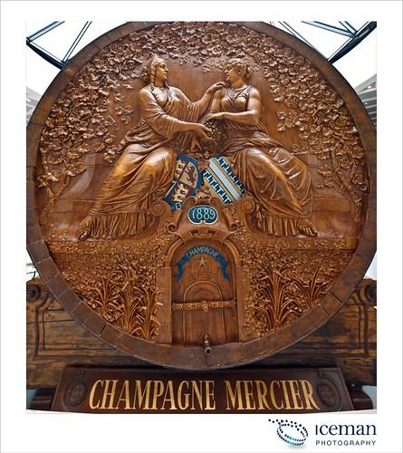 Champagne Mercier Pan A
