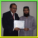 Aculife Megnatic wave Therapist Syed Zohaib Zaidi from Rorhi, Received the Certificate of Aculife Course  By H.Dr  & Megnatic wave Therapist Syed Laiuqe Naqvi.