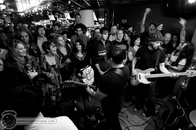 Modern Rifles at Tin Can Ale House 120509 © Michael Klayman-021