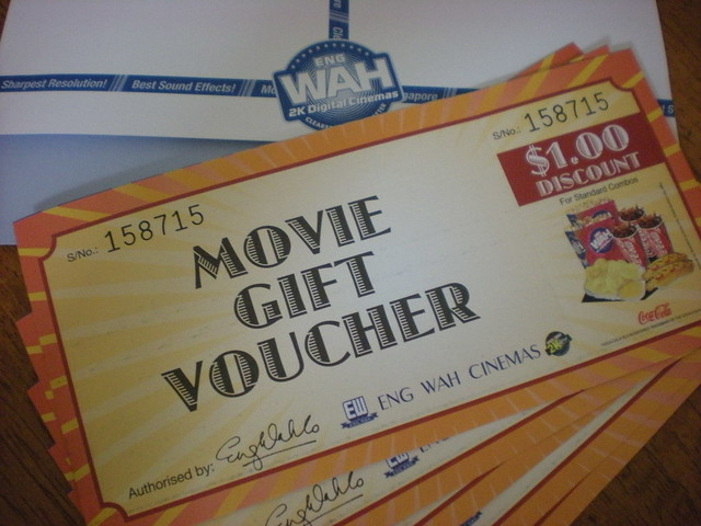 ENG WAH CINEMA Movie Gift Voucher
