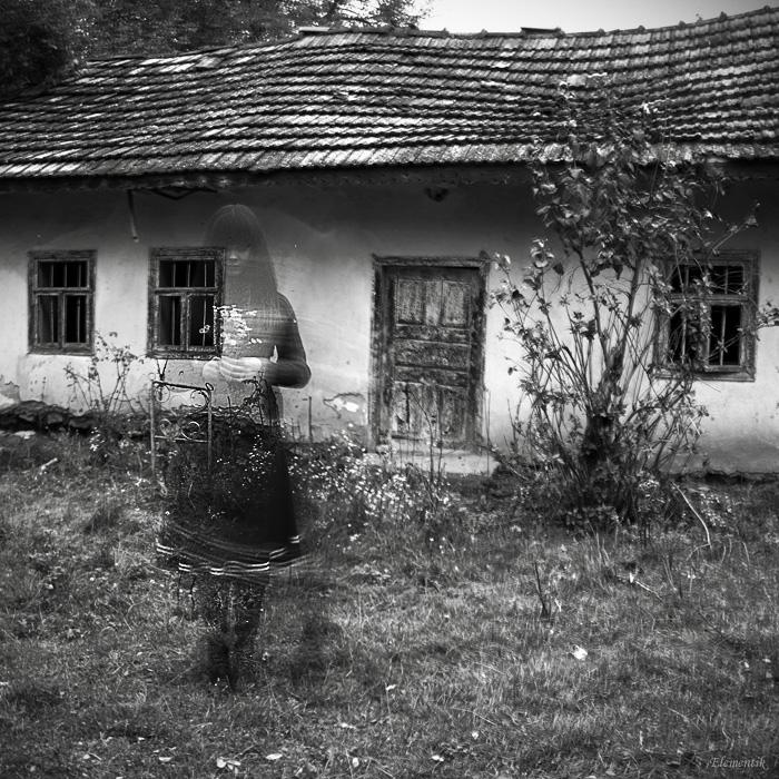 Привидение дома фото