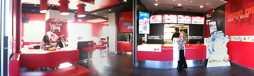 Remodeled KFC in downtown Oklahoma City