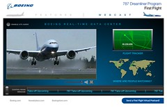 Boeing 787 Dreamliner First Flight (lift off)