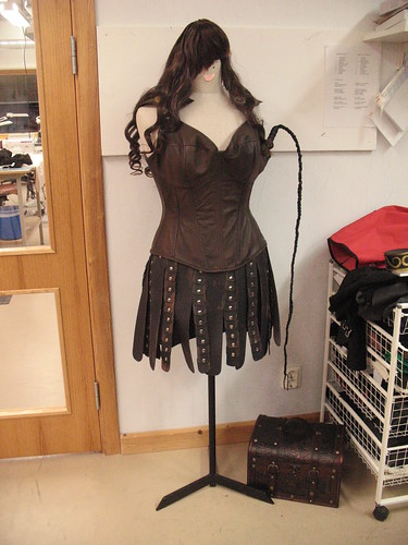 Xena outfit - on doll