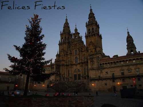 Felices Fiestas desde Santiago