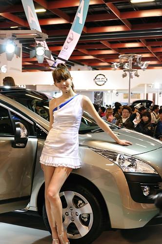 Peugeot show girl