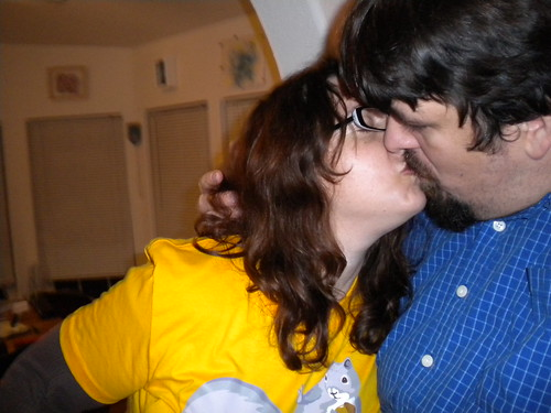 New Year's Eve: What a kiss