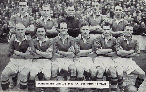 Manchester United 1947-48 team photograph