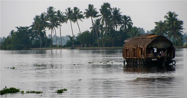 House boat in Alapuzha