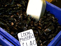 Fresh Raw Mussels (Moules)