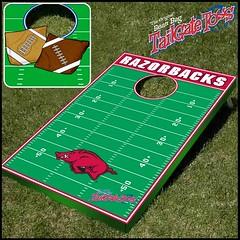 Arkansas Bean Bag Toss Game