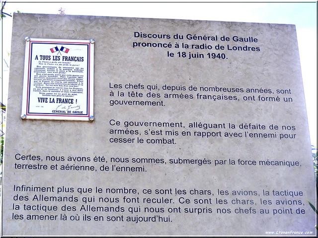 Discours De Gaulle Appel du 18 juin