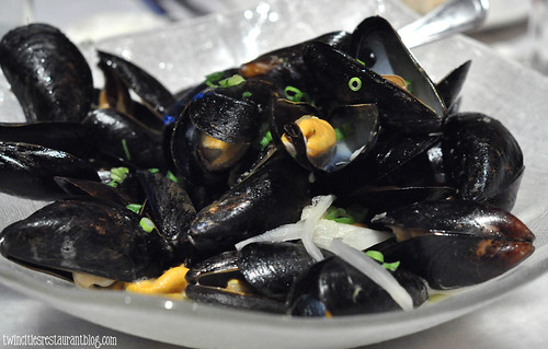 Moules Cafe De Paris at Salut Bar Americain ~ St Paul, MN