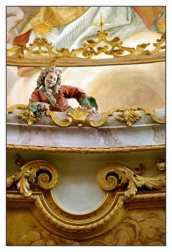 13.06.30.16.26.44 Kloster Weltenburg, Klosterkirche, Egid Quirin Asam und Cosmas Damian Asam