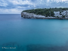 Playing with long exposure (wesolowski.matt) Tags: chmury landscapekrajobraz longexposure mallorca morze skaly wybrzeze wyspa spain sea sky skyline rocks island longexposuretime coast evening bright cloudy exposure hiking water blue light clouds summer wasser nature