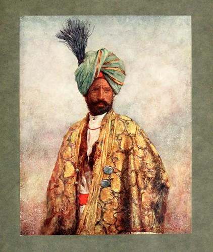 008- Soldado de Cachemira-The people of India 1910