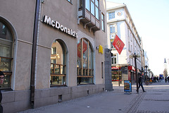 mcdonald's in oulu, finland (hellvetica) Tags: trip vacation finland design europe speaker oulu snd scandanavia snds newsdesign