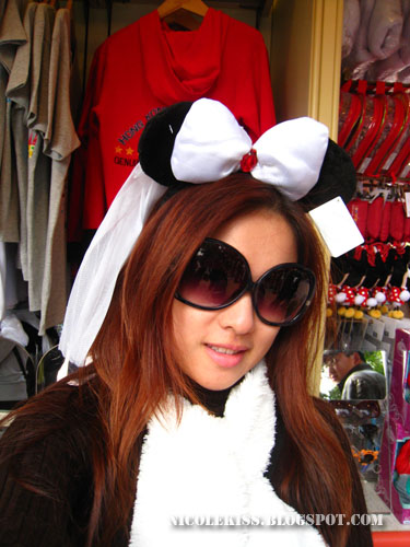 sunglass bridal minnie