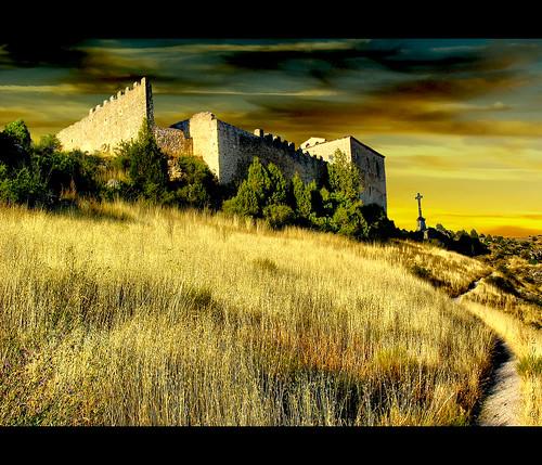 San Frutos, monastery remains.