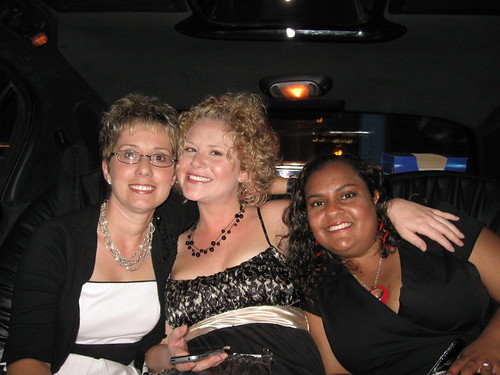 in the Nikon limo