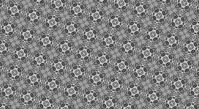 Abstract Black & White Background Pattern free to use.