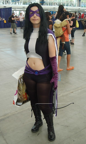 Comic Con 09: Huntress