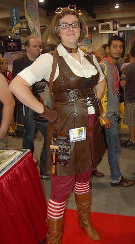 Comic Con 09: Agatha Clay