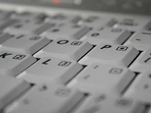 Computer Keyboard - Close Up