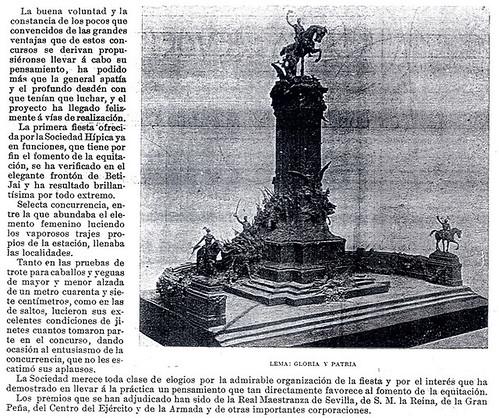Concurso hípico 1897