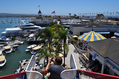 View from the Ferris Wheel, Newport Beach