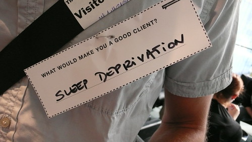 What would make you a good client?