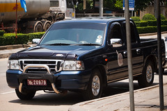 Royal Thai Police Ford Ranger Truck