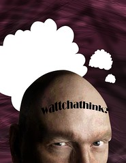 whatchathink (Joseph Albert Angeles) Tags: art artwork digitalart bald thinking baldman whatchathink