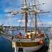 Lady Nelson at Constitution Dock, Hobart © Geoff Wise