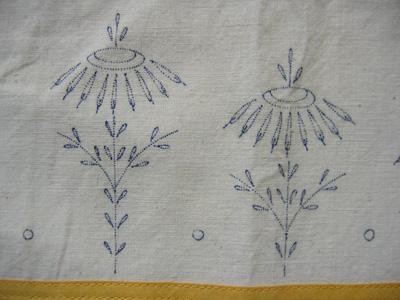 apron flowers