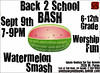 watermelon bash