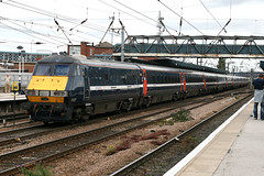 82227, Doncaster (Howard_Pulling) Tags: uk station 82 doncaster southyorkshire dvt nx 82227 nationalexpresseastcoast nxec drivingtrailer