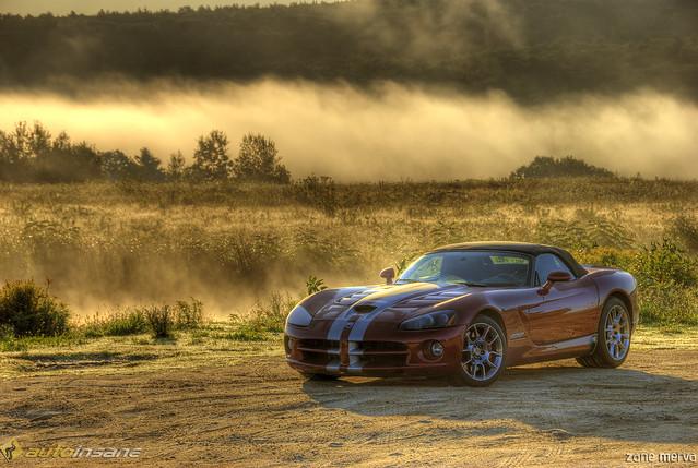 fog sunrise dodge viper 2008 2009 hdr srt10 zanemerva autoinsane