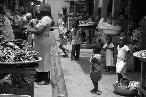 Koforidua market, Ghana.