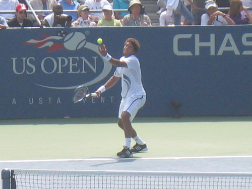 Tsonga serving