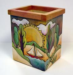 Sticks о Utencil Box, BOX015-Home Sweet Home Back